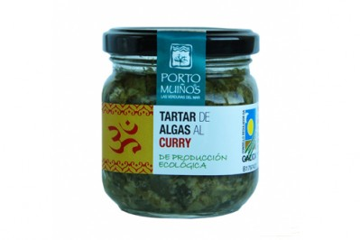 Tartar di Alghe al Curry